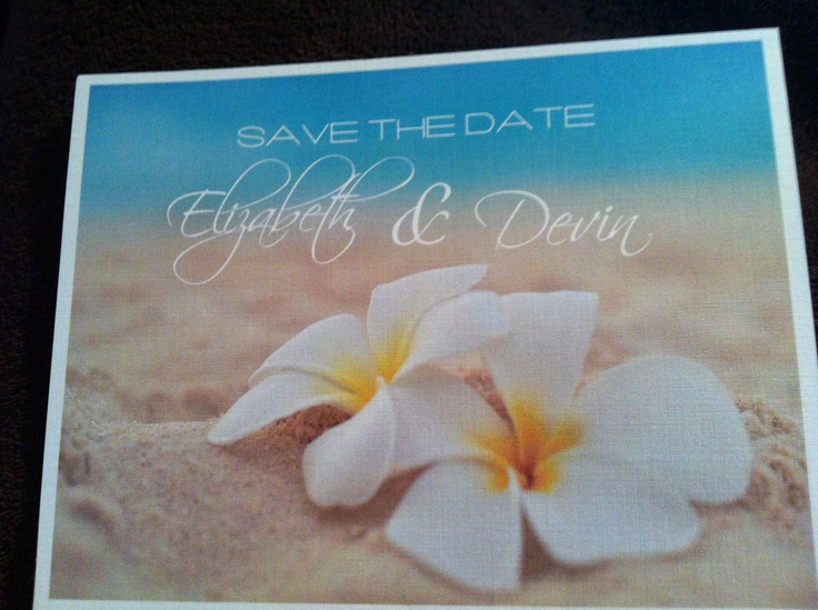 My save the dates