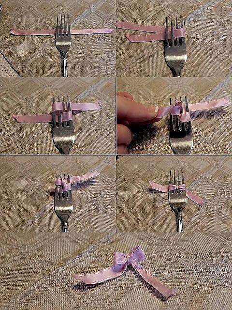 Tips...DIY knyt små rosetter enkelt!
