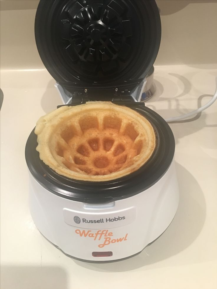 Russell Hobbs Waffle Bowl... new breakfast and desserts now.