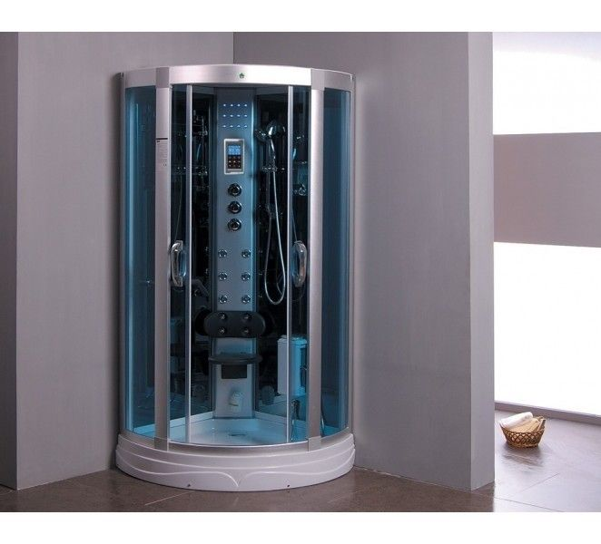aquaplus ss08 steam shower cabin enclosure - Luxury Steam Showers