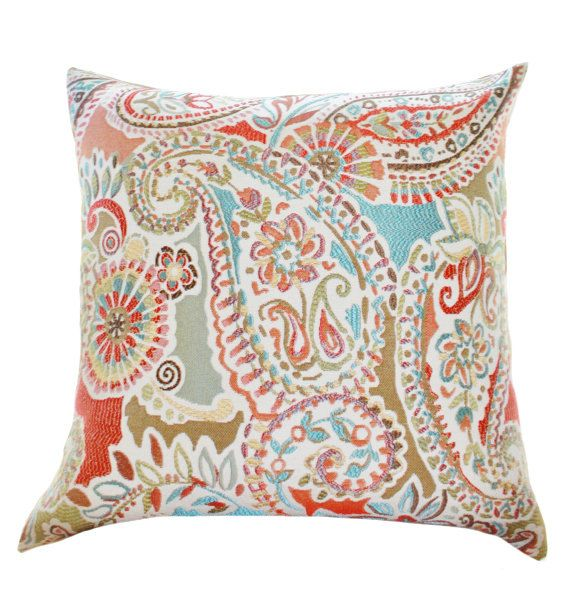 Best 25 red decorative pillows ideas on pinterest for Turquoise and red throw pillows
