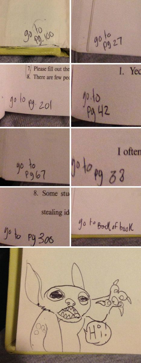 Best Funny Images On Pinterest - 20 times students vandalised textbooks in the funniest way