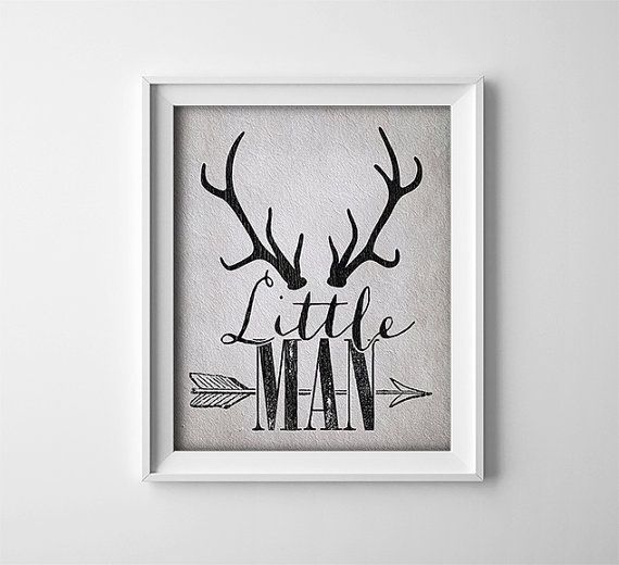 Buy One Get One Free Art Print Little Man  Deer by ThePrintAnnex
