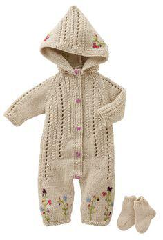 Bergere de France Sleepsuit & Socks Pattern