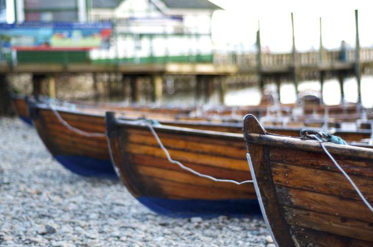Rowing boats at Waterhead, Ambleside