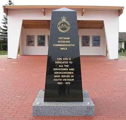 Vietnam Veterans Commemorative Walk