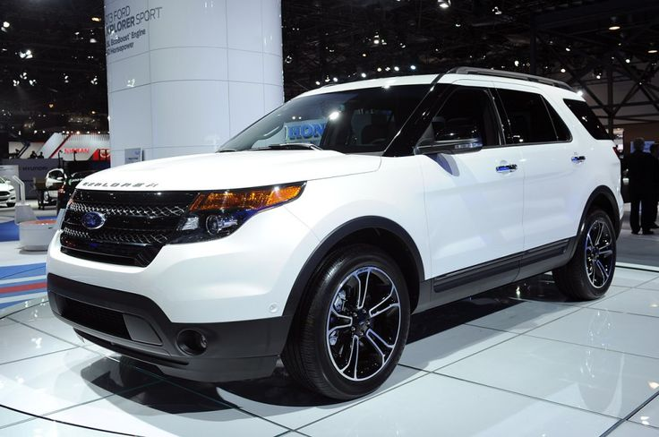 2014 Ford Explorer Sport. Love the black wheels and grill!