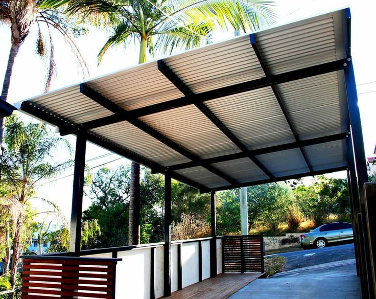 37 best building steel canopy design images on pinterest for Steel shade structure design