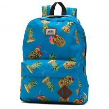 Vans Old Skool II Backpack Pineapple Book Gym Travel Bag Vans Off The Wall