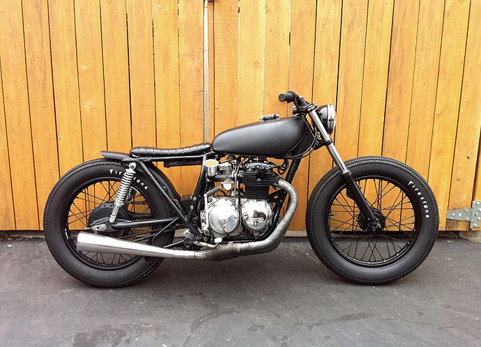 1975 Honda CB400 // by Holiday Customs