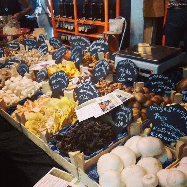 "@rhfhanssen's photo: ""Mushrooms at the #markthal #rotterdam"""