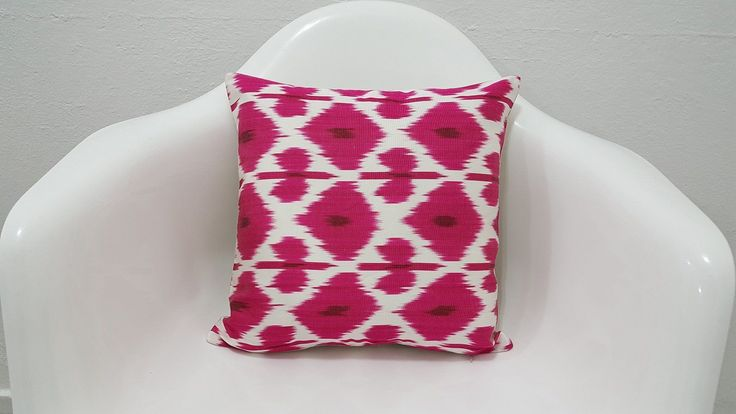 Traditional Cushion Home Improvement Ikat Pillow Cover
