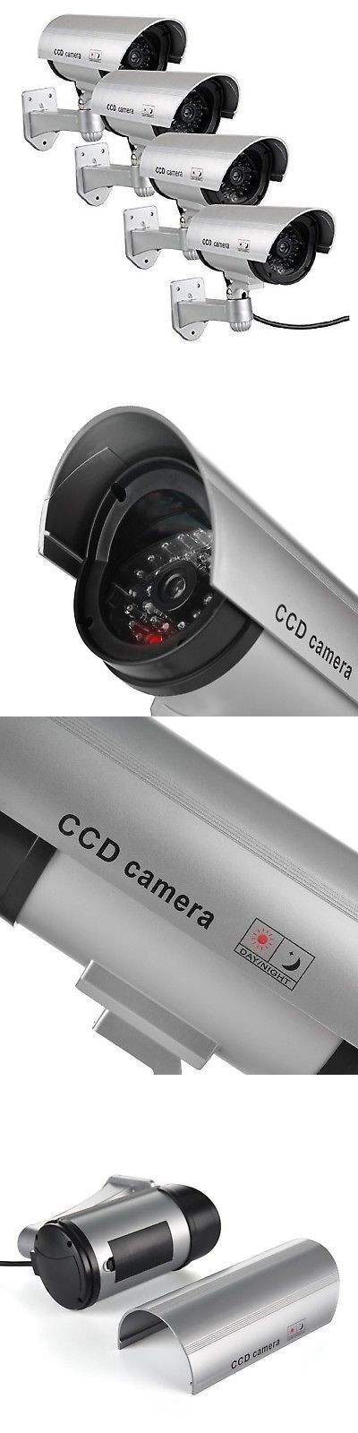 Dummy Cameras: Waterproof Fake Dummy Simulated Cameras Dummy Security Camera Indoor Outd... New -> BUY IT NOW ONLY: $32.32 on eBay!