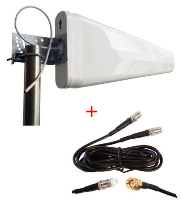 BandRich BandLuxe K535 K535u M2M Vehicle LTE Router External wide band Log Periodic Yagi Antenna -- Awesome products selected by Anna Churchill