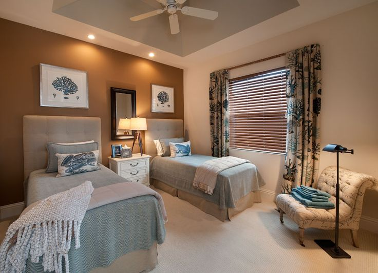 Julians Interiors Interior Designers Marco Island Florida Madison  Connecticut Interior Design Model Home Guest Bedroom