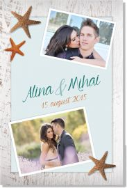 Invitatie nunta Marine love