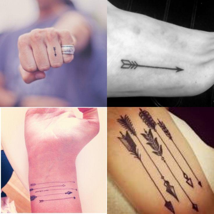 Arrow tattoo...