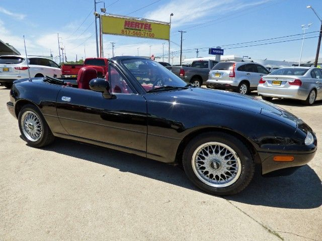 Collector Car! Don't Miss Out on this 1993 #Mazda MX-5 #Miata 5-Speed #Convertible with Leather, A/C, Just 30K Miles & a Clean CARFAX for Just $8,990! -- http://www.hertelautogroup.com/1993-Mazda-MX5Miata/Used-Convertible/FortWorth-TX/9282645/Details.aspx  #mazdamiata #mazdamx5 #collectorcar #funcar #roadster