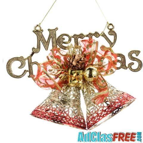 Golden Red Pierced Letters Brand Christmas Decoration - US Classified Ads   Post Your Ads For Free