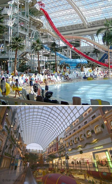 West Edmonton Mall out first road trip and weekend getaway in Alberta!! 2013