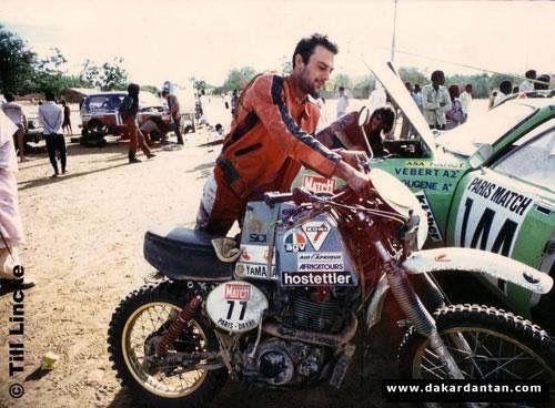 Till lincke yamaha xt 500 Dakar 1981