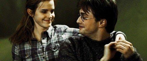 Tak rada ich vidím spolu šťastných. <3 No nemyslíte si, že im to pristane? Rowlingová prečo si dala Hermionu s Ronom :( :D