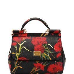Сумка женская кожаная цветная c гвоздиками DOLCE&GABBANA Sicily Bag Цена 12 000 руб. http://www.sumkavip.ru/item5462.html