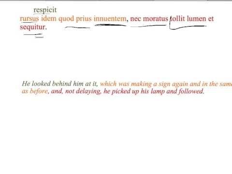 ▶2012 GCSE Latin Pliny Ghosts 6 - YouTube