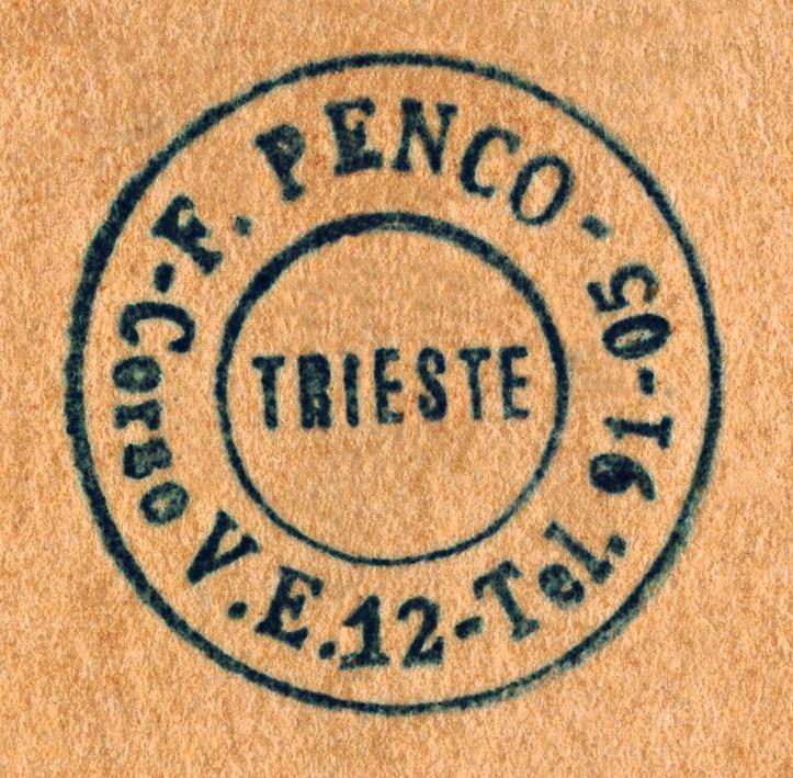 Francesco Penco, Corso Vittorio Emanuele 12, Trieste