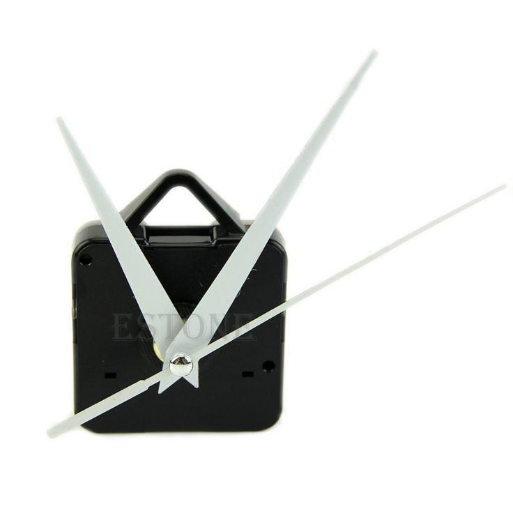 J35 HQ Черный Кварцевые Настенные Часы Белые Руки Движение Механизм DIY Repair Tool Комплект Деталей