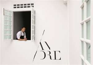 One of the best restaurants ever... ANDRE in Singapore.  http://www.theworlds50best.com/andre-chiang-and-his-new-restaurant-andre/6126/andre_window