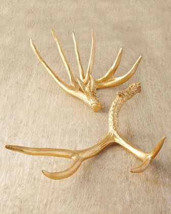 Two Golden Antlers at Horchow.