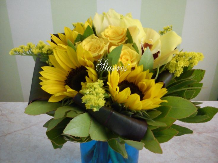 #yellow#bouquet