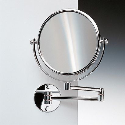 1000 ideas about wall mounted magnifying mirror on - Magnifying wall mirrors for bathroom ...