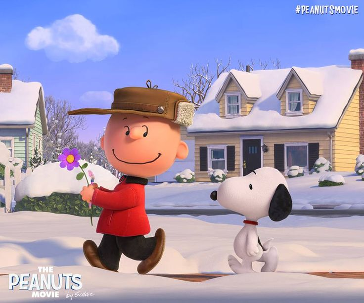 Charlie Brown and Snoopy will warm your heart in The Peanuts Movie, coming in 2015! And I can't wait!!!!!
