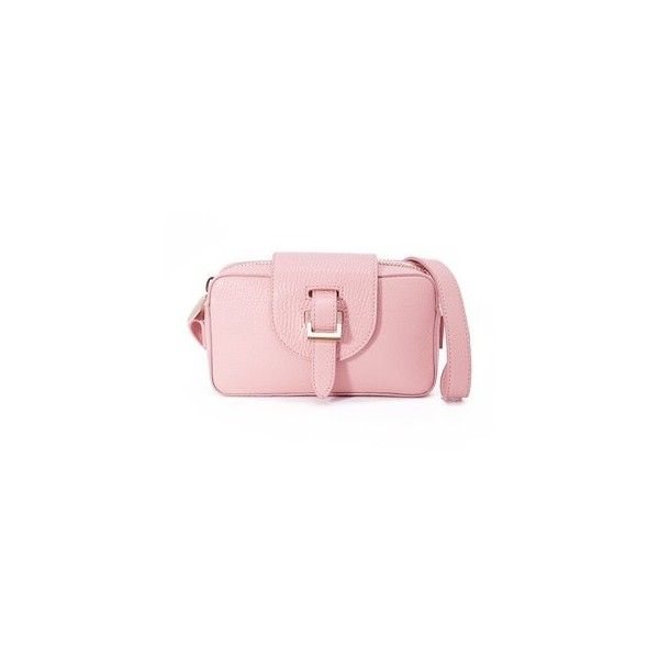 meli melo Micro Box Camera Bag (£290) ❤ liked on Polyvore featuring bags, handbags, shoulder bags, orchid, pink leather purse, pink shoulder bag, pink leather handbags, leather crossbody handbags and crossbody camera bag