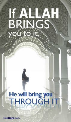 be patient and wait till u finally see the beauty in every end that Allah choose for u