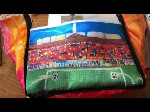 Football Fan Bag - Inspire by Kim - YouTube