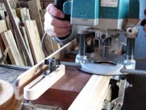 ▶ Mortise jig for Hand held router - YouTube