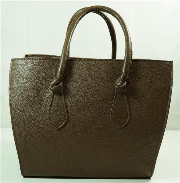 Handtasche - Handgefertigte Ledertasche Schultertasche - ein Designerstück von lieblingstasche37 bei DaWanda