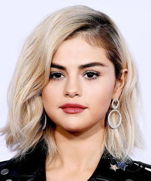 selena gomez hair styles best medium hairstyles for faces selena gomez 8781