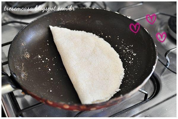 como fazer tapioca caseira