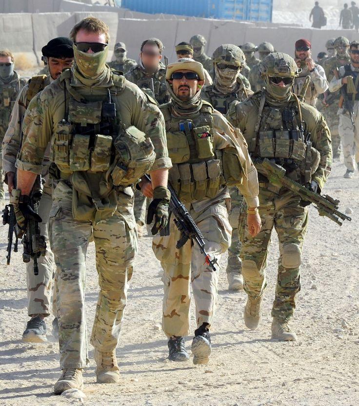 Australian SAS SOTG Afghanistan 2012.