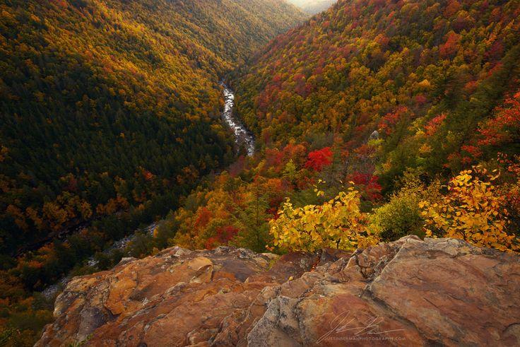 West Virginia Fall Colors near Blackwater Falls State Park [20481367] [oc] #reddit