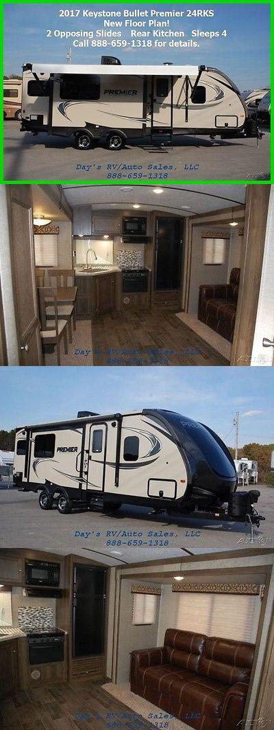 rvs: 2017 Keystone Bullet Premier 24Rkpr Bumper Pull Behind Camper Travel Trailer Rv BUY IT NOW ONLY: $25301.0