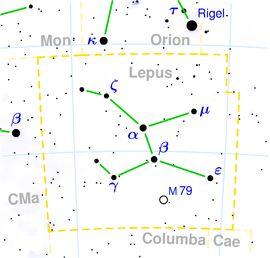 La Costellazione della Lepre è collegata con Gemini.