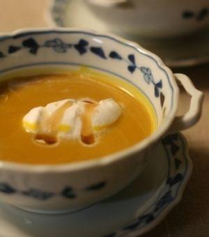カボチャのスープ、アールグレー風味