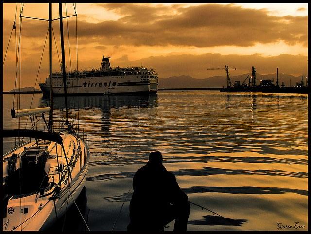 Cagliari: porto.