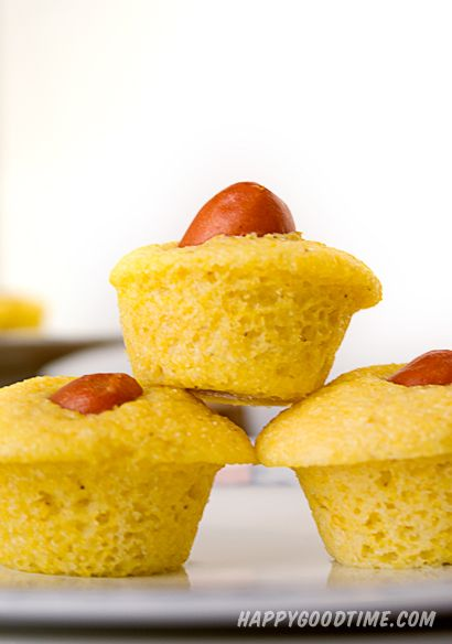 corndogMuffinMinis_3 sure would make an interesting appetizer at an adult party. OMG. So easy to make. I froze them way ahead of time and served them cold. They were a hit.