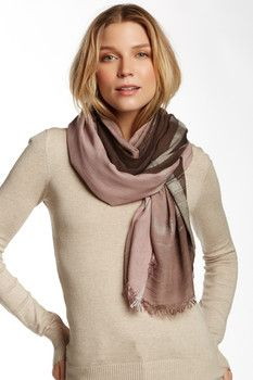 Leigh & Luca Classic Rectangle Fringe Scarf